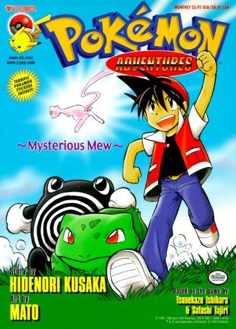 Pokemon Adventures, Volume 1: Mysterious Mew (Pokemon: Hidenori Kusaka; Illustrator-Mato