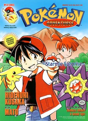 Pokemon Adventures, Volume 3: Starmie Surprise (Pokemon: Hidenori Kusaka; Illustrator-Mato