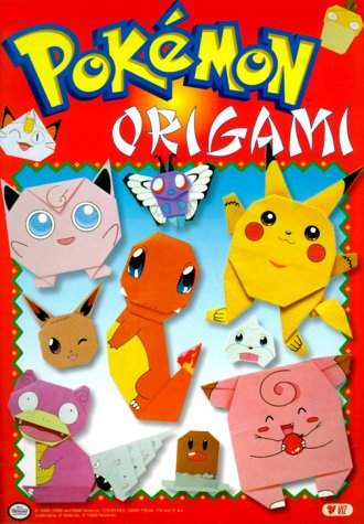 Pokemon Origami 9781569313916 Poke+a7mon fans can bring their favorite creatures to life with a colorful origami kit that includes preprinted paper and instructions f