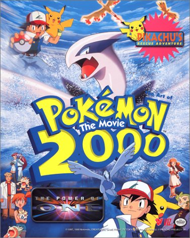 The Art of Pokemon:The Movie The Power of One (1569315027) by Shudo, Takeshi; Sonoda, Hideki