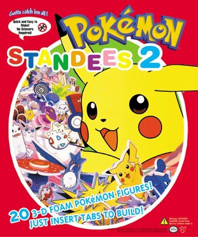 9781569315040: Pokemon Standees 2: 20 3-D Foam Pokemon Figures