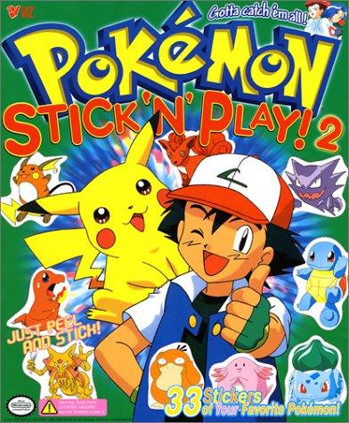 9781569315668: Pokemon Stick 'n Play Book 2