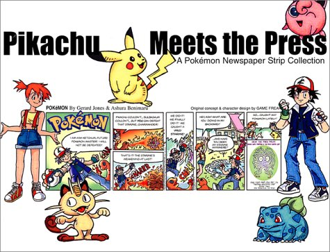 9781569315767: Pikachu Meets the Press: A Pokemon Newspaper Strip Collection