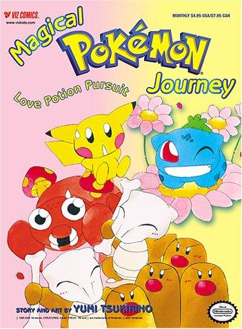 9781569316757: Magical Pokemon Journey, Volume 4 Number 2: Love Potion Pursuit