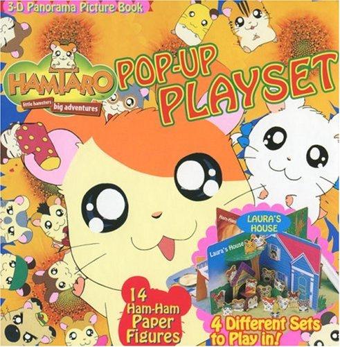 9781569318461: Hamtaro Pop-Up Playset