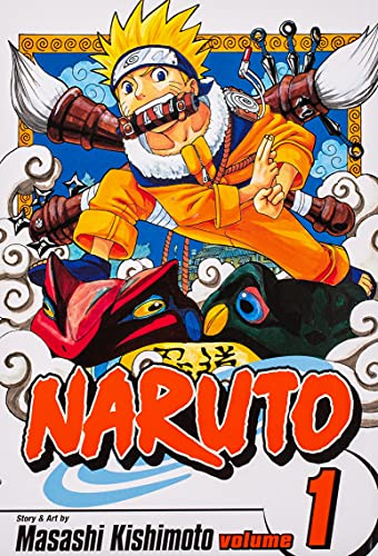 9781569319000: Naruto Volume 1: Tests of the Ninja v. 1