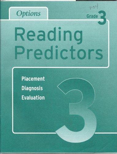 9781569368022: Options Reading Achievement Predictors: Level 3