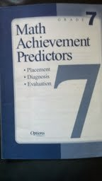 9781569368466: Math Achievement Predictors