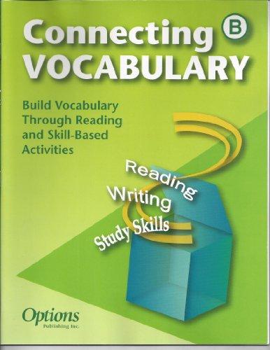 Connecting Vocabulary B