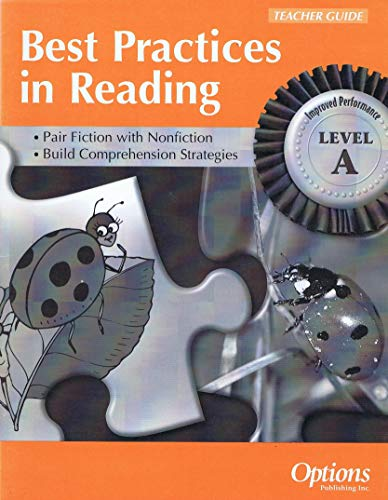 9781569369890: Best Practices in Reading Teacher's Guide (LEVEL A)