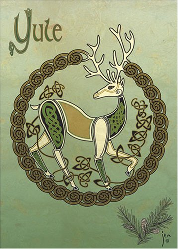 9781569377574: Yuletide Blessings - Celtic art holiday cards (Cards)