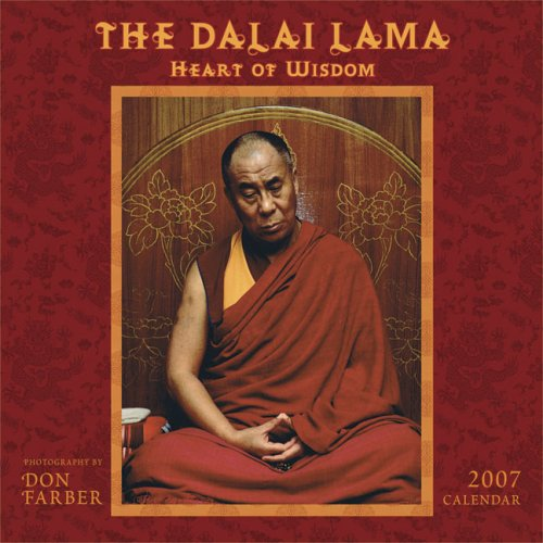 The Dalai Lama Heart of Wisdom 2007 Calendar (1569377634) by Dalai Lama