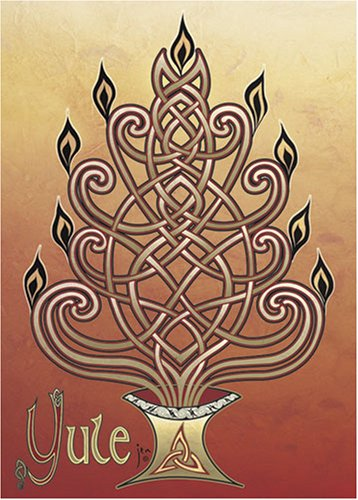 9781569377741: Yuletide Blessings - Celtic art holiday cards (Cards)