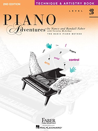 9781569390610: Piano Adventures Technique & Artistry Book, Level 2B