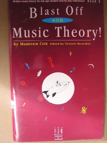 9781569390887: Blast Off with Music Theory! Book 5