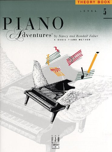 9781569390948: Piano Adventures Theory Book, Level 5