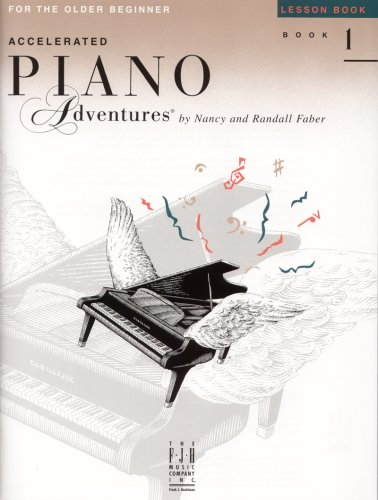 9781569391303: Accelerated Piano Adventures: Lesson Book Level 1