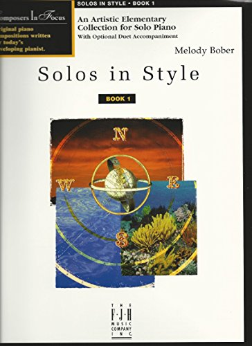 Solos in Style, Book One (1569391505) by Melody Bober