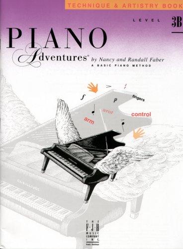 9781569392256: Piano Adventures Technique & Artistry Book, Level 3B