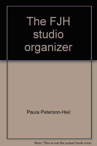 9781569392300: The FJH studio organizer