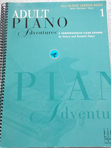 9781569392386: Adult Piano Adventures: Level 1