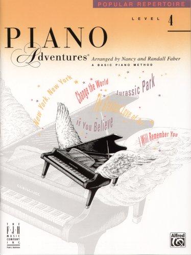 9781569392515: Piano Adventures Popular Repertoire Level 4