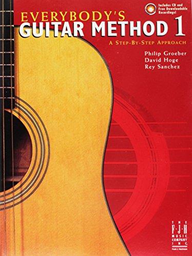 9781569392836: G1025CD - Everybody's Guitar Method, Book 1 Book/CD