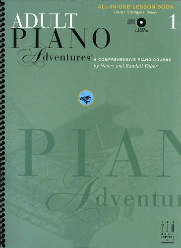 9781569393390: Faber Piano Adventures: Adult Piano Adventures All-in-One Lesson - Book 1