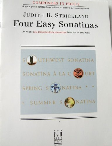 9781569393567: Four Easy Sontinas