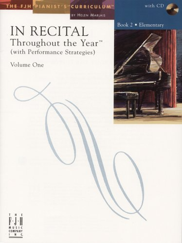 9781569393918: In Recital Throughout the Year, Volume One, Book 2 (Book & CD)