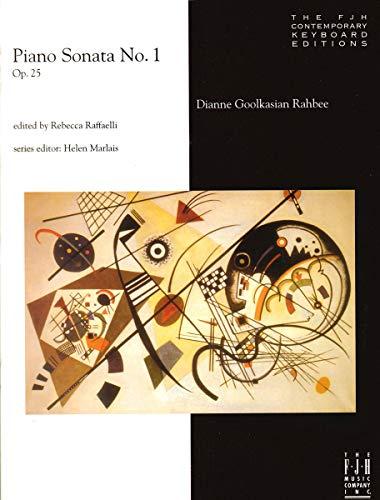 Piano Sonata No. 1, Op. 25 Piano Solo: Dianne Goolkasian Rahbee