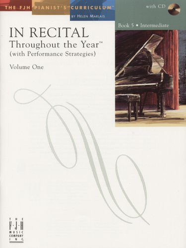 9781569394465: In Recital Throughout the Year, Volume One, Book 5