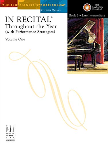 9781569394472: FJH1464 - In Recital Throughout the Year - Volume One - Book 6