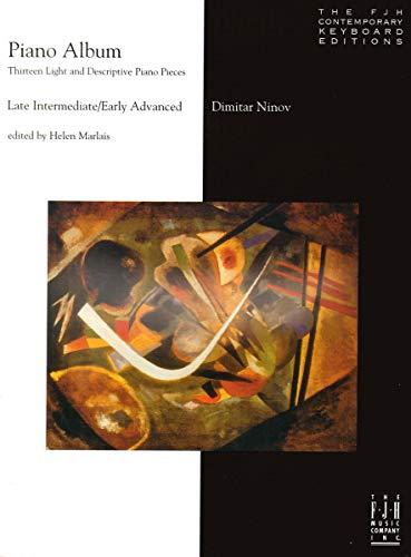 9781569394496: J1008 - Piano Album, Thirteen Light and Descriptive