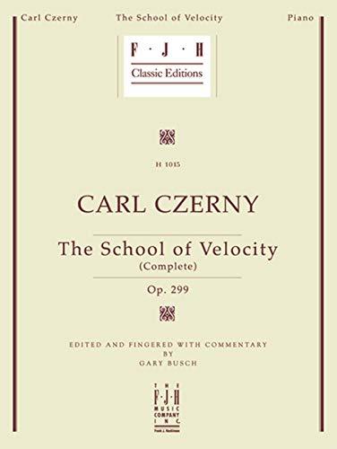 9781569394953: The School of Velocity, Complete, Op. 299