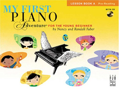 9781569395448: My First Piano Adventure, Lesson Book A with CD