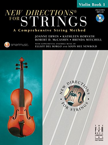 9781569395721: New Directions for Strings Violin Book 1