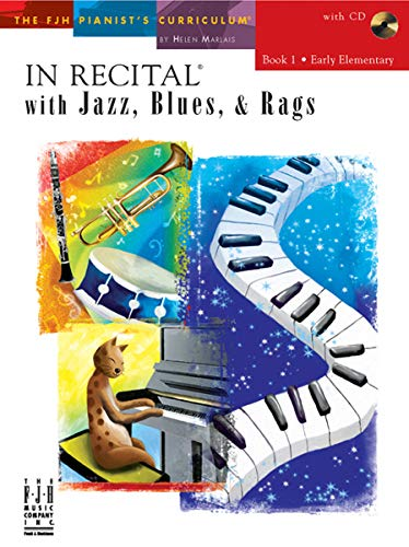 9781569396889: FJH1739 - In Recital with Jazz, Blues, and Rags - Book 1