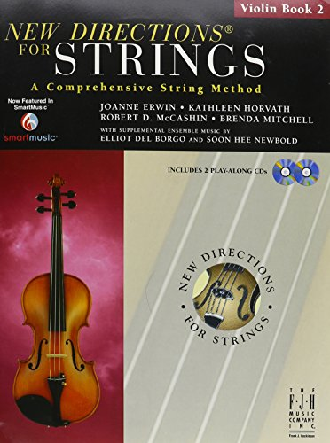 9781569397060: New Directions for Strings Violin Book 2