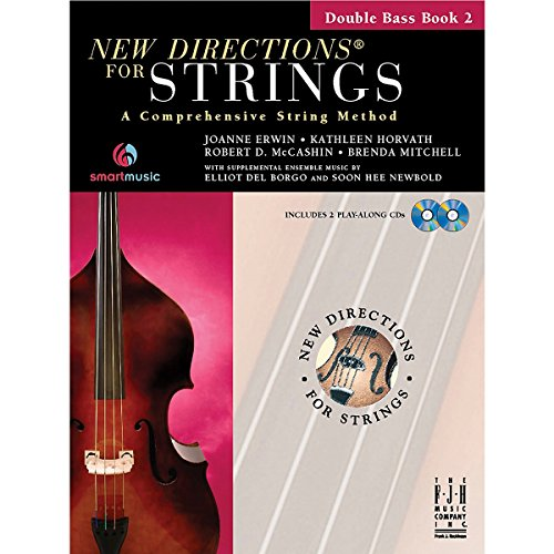 9781569397091: New Directions for Strings Double Bass Book 2