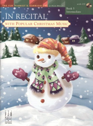 In Recital with Popular Christmas Music, Book 5: various
