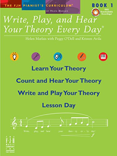 9781569397404: Write, Play, and Hear Your Theory Every Day - Book 1 (with CD)