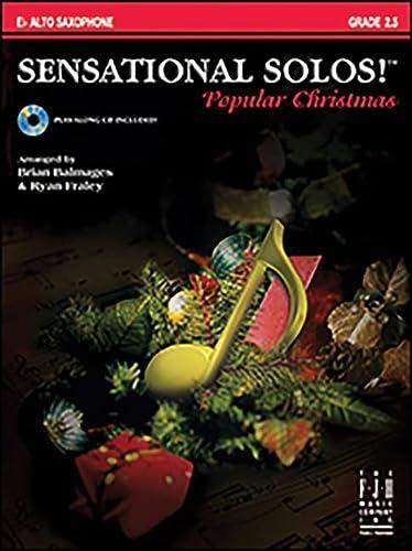 9781569397831: Sensational Solos!™ Popular Christmas (Play-Along Book and CD) - Alto Saxophone