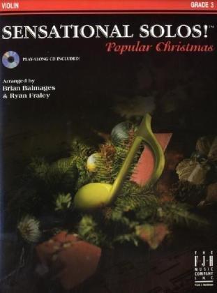 9781569397879: Sensational Solos! Popular Christmas (Play-Along Book and CD) - Violin
