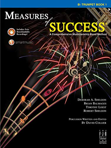 Measures of Success, Trumpet Book 1 With: Deborah A. Sheldon,