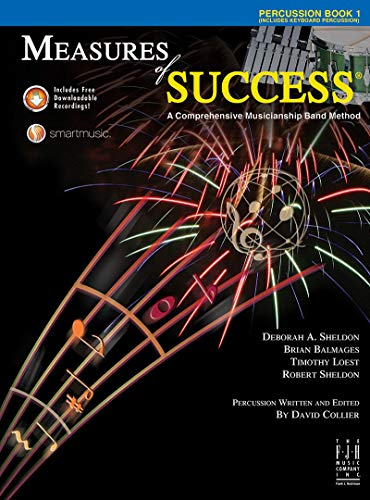 Measures of Success Percussion Book 1 With: Sheldon, Deborah A.;