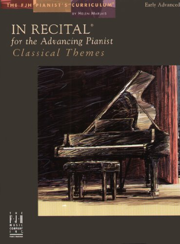 9781569398326: In Recital for the Advancing Pianist, Classical Themes