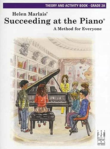 9781569398760: Succeeding at the Piano Theory and Activity Book Level 2A