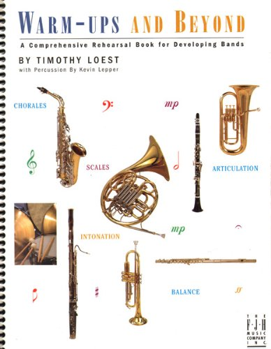 9781569399187: BB203PER - Warm-ups and Beyond - Percussion