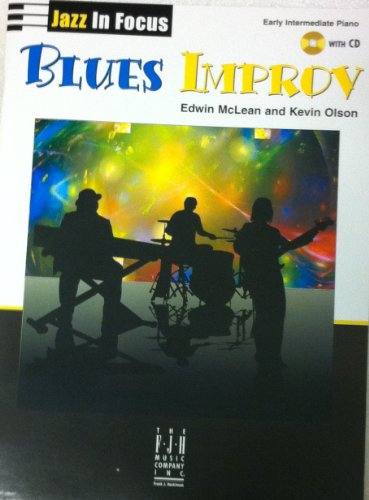 Blues Improv (with CD): Edwin McLean, Kevin